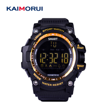 Kaimorui EX16 Esporte Relógio Inteligente Chamada SMS Lembrete Cronômetro Vida Pedômetro Smartwatch Bluetooth para iOS Android Telefone À Prova D' Água