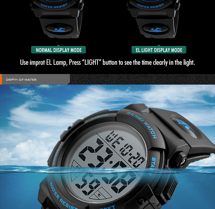 HTB1I1PKXaLN8KJjSZFvq6xW8VXac - SKMEI Brand Children Watches LED Digital Multifunctional Waterproof Wristwatches Outdoor Sports Watches for Kids Boy Girls