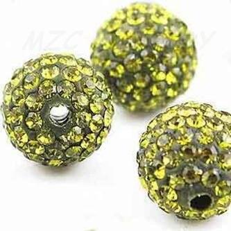 Дешево! 1000 шт./лот 10 мм смешанный цвет 25 Цвет Micro Pave CZ дискобол, бусины, кристалл браслет бусина Шамбала