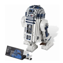 2018 обновленная звезды космические войны R2-D2 умный робот 2127 шт. строительные блоки игрушки для детей совместимы с Legoing 10225