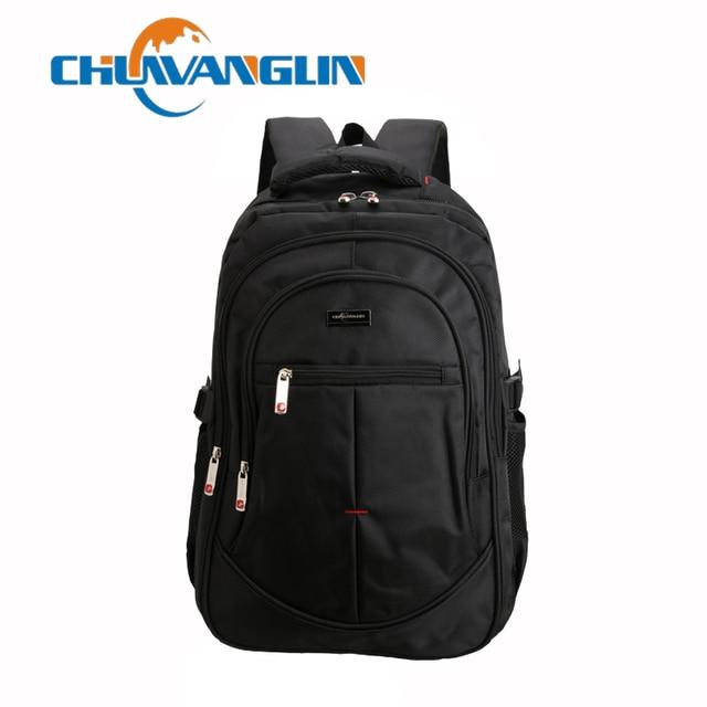 fb78cda529 Chuwanglin Men and Women Laptop Backpack Rucksack SchooL Bag Travel  waterproof Backpack Male Notebook Computer Bag black ZDD4193