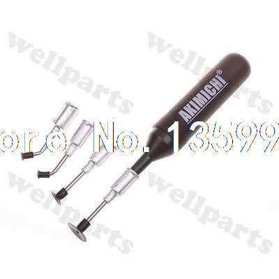 IC SMD Vacuum Sucking Pen Sucker Pick Up Hand + 3 Suction Headers MT-668
