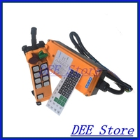8 Channel 1 Speed Hoist Crane Truck Radio Remote Control System With E Stop