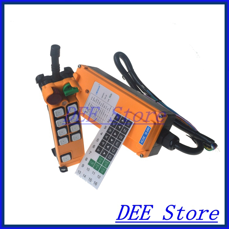 Free Shipping 8 channel 1 Speed Hoist Crane Truck Radio Remote Control System with E-Stop brian a mcgrail rebuilding the urban housing question