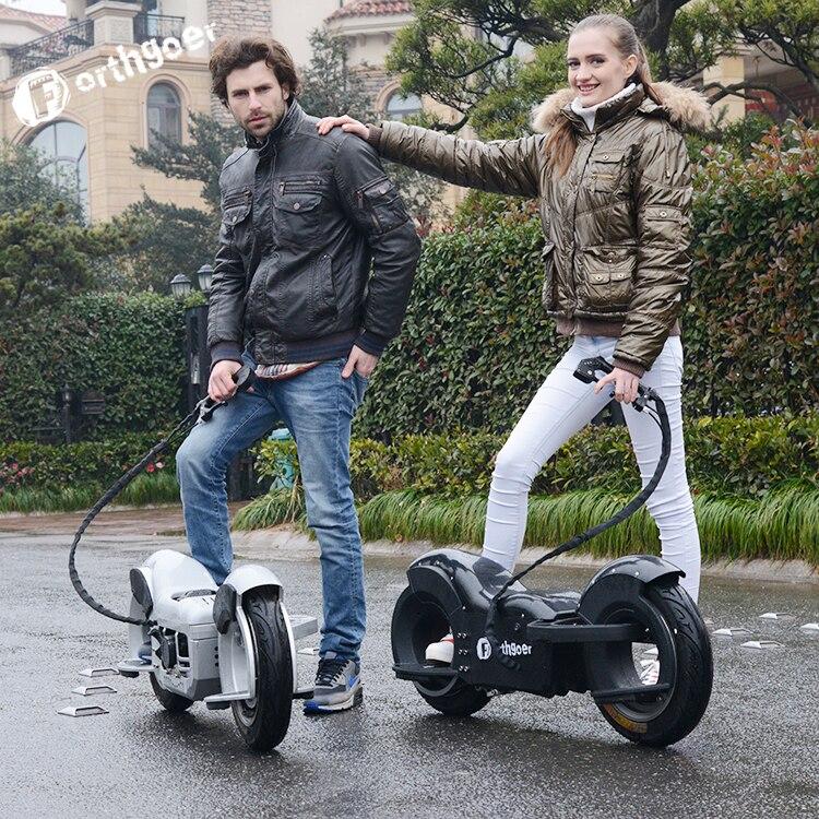 Somatosensory Electric Unicycle Off Road Vehicle Travel