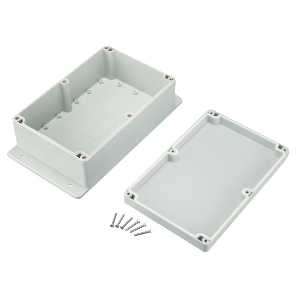 Newest 1pcs 230x150x85mm Electronic ABS Housing DIY Junction Box Electrical Connection Box Enclosure Case Outdoor Waterproof 1pcs universal waterproof abs plastic 318x236x155mm junction box project enclosure diy outdoor electrical connection cable box