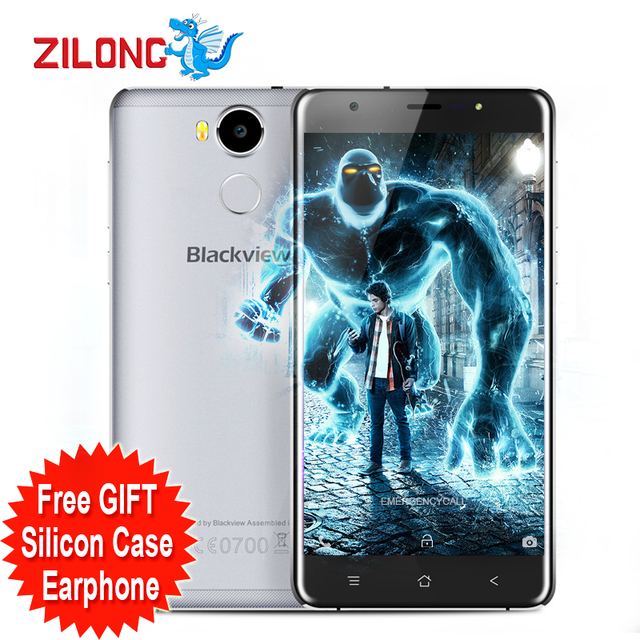 "Original Blackview R6 Mobile Phone Android 6.0 4G FDD LTE 5.5"" FHD MTK6737T Quad-core Smartphone 3GB 32GB GPS 13MP Cellphone"