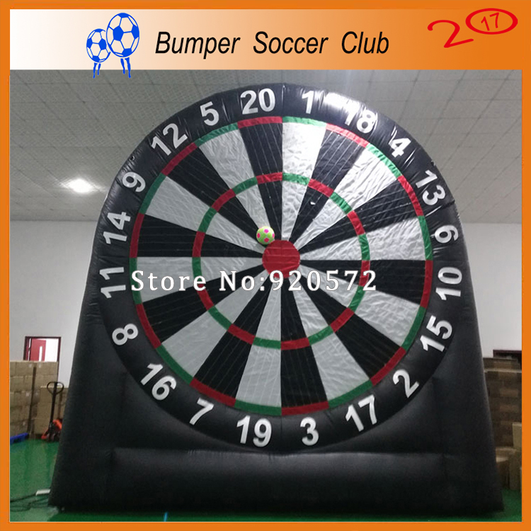 Free shipping ! 3m/4m/5m/6m giant outdoor inflatable foot dart board /inflatable soccer darts games,inflatable foot darts akg pae5 m