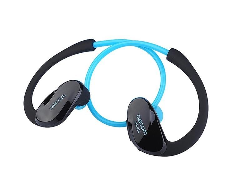 Dacom NFC Cordless Ear Hook Sport Bluetooth 4.1 earpiece Sweatproof Wireless Hifi Bass Headphones With Microphone (14)