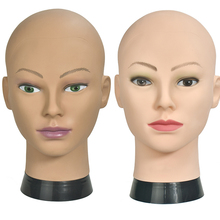 No Hair Bald Mannequin Head For Hats Wigs Lashes Jewelry Mask Massage Sale