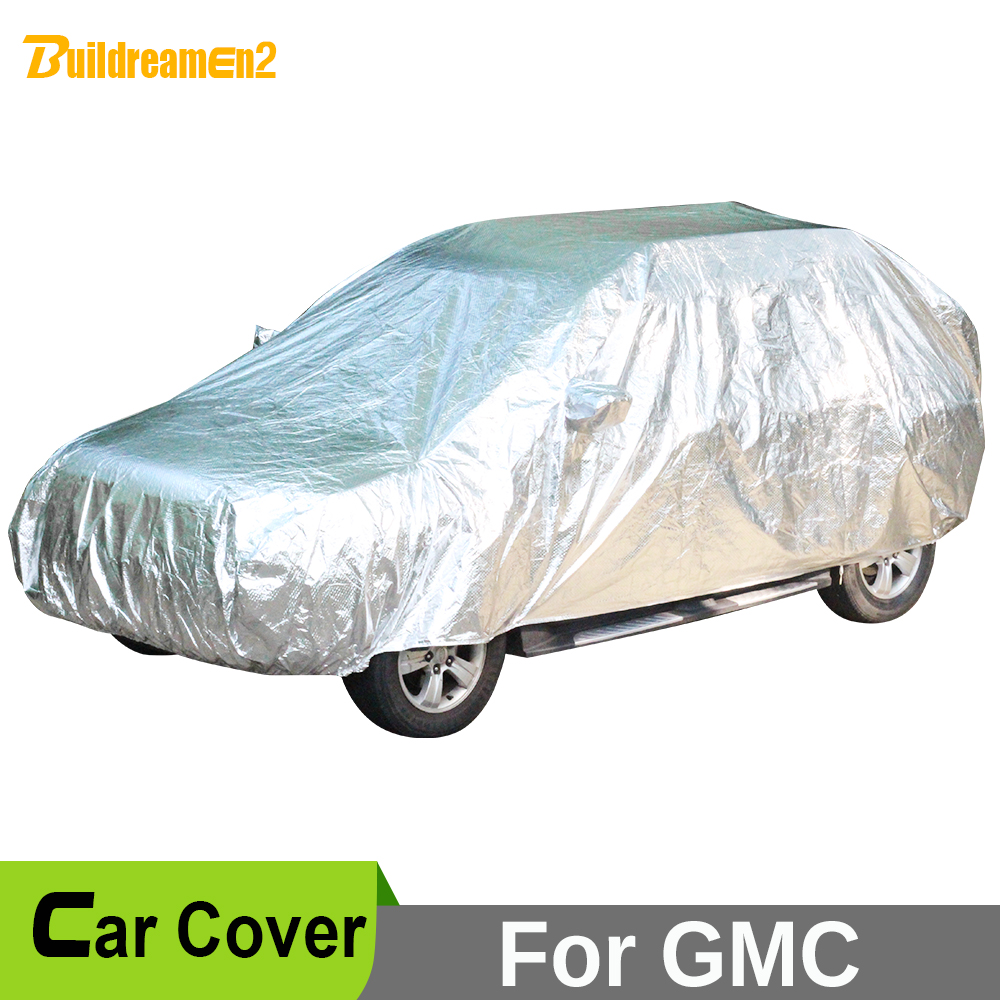 Buildreamen2 Car Cover Waterproof SUV Anti-UV Sun Shield Snow Hail Rain Dust Protective Cover For GMC Terrain Acadia Envoy Yukon buildreamen2 car cover waterproof suv anti uv sun shield snow hail rain dust protective cover for gmc terrain acadia envoy yukon