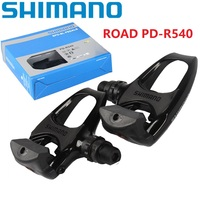Shimano SPD R540 Road Bicycle Bike Pedal Selft Locking Pedals With SM SH11 Cleat Set PD M540 Road Bicycle Cycling Pedal
