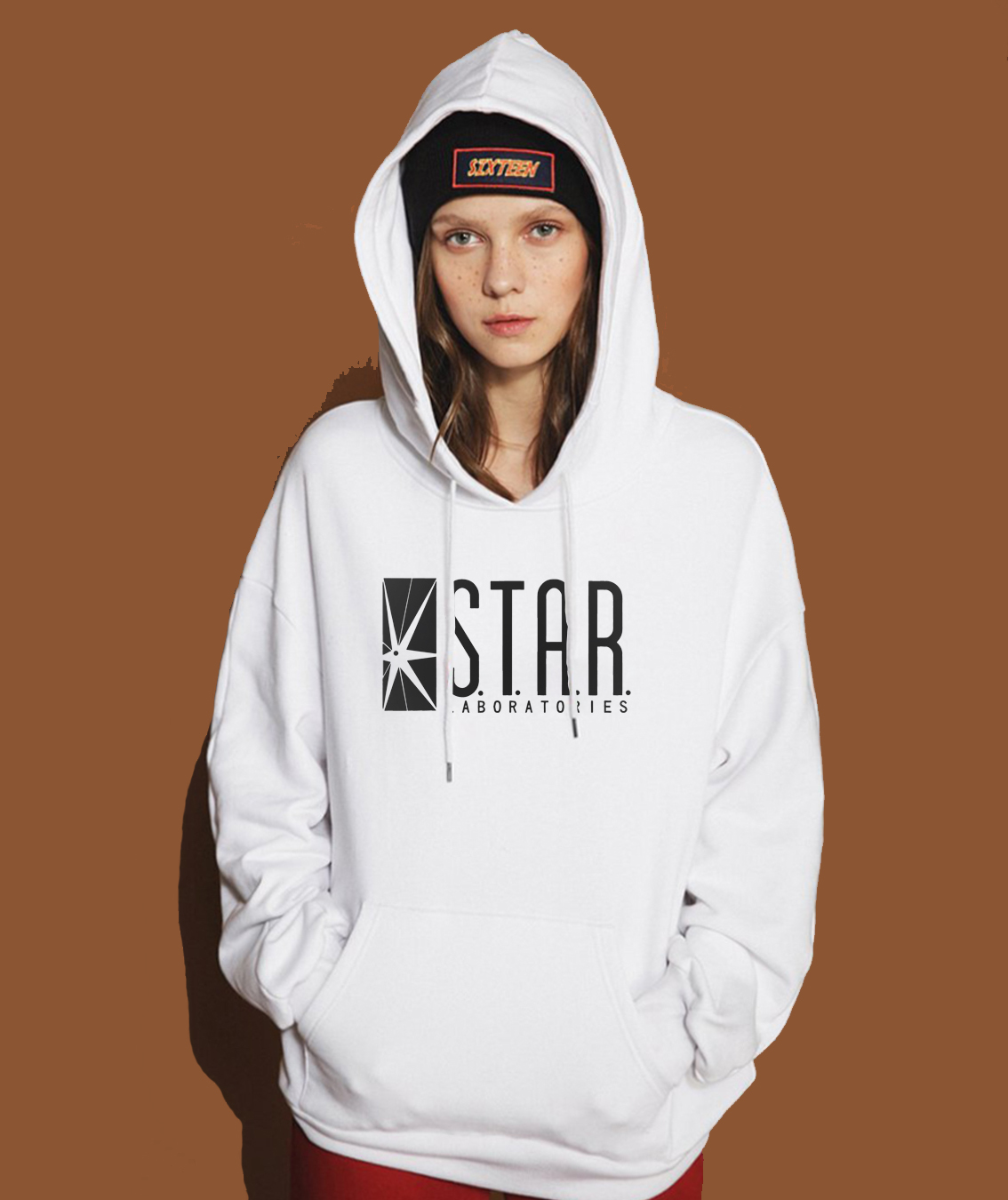 STAR S.T.A.R.Labs Fashion Hoody For Women 2019 Spring Fleece Pullover Female Winter Sweatshirt Brand Clothing Kawaii Crossfit