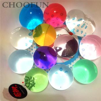 120 sztuk duże w kształcie perły duże 30-45mm suche kryształowe gleby błoto rosną Ball koraliki wodne 6-8mm koraliki Home Decor tanie i dobre opinie CHOOFUN Kryształ gleby Dry beads 6-8mm 30g lot about 30-45mm
