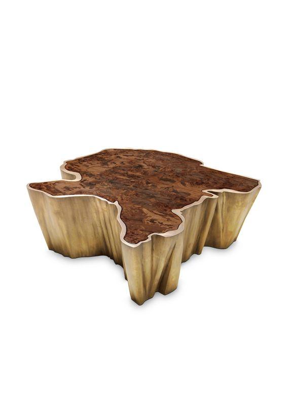 Table basse de meubles à la maison de salon table basse d'acier inoxydable de style moderne conçue table de haute qualité