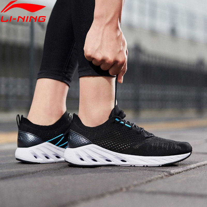 Li Ning Men LN ARC Cushion Running Shoes Breathable Mono Yarn LiNing Fitness Sport Shoes Sneakers