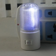 New 3W 4LEDs Bedroom Wall Mounting Night Lamp Licht Light Plug Lighting Bulb Kids Soft Bedroom Nightlight VC493 P15