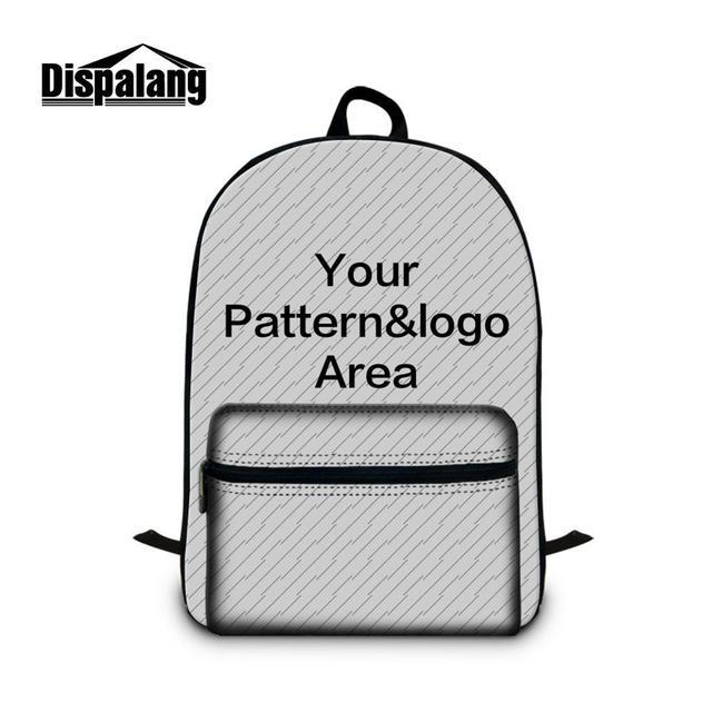 Dispalang School Bags Personalized Customized 3d Printing Laptop Backpacks Men S Travel Bagpack Mochilas Bookbags Rucksack