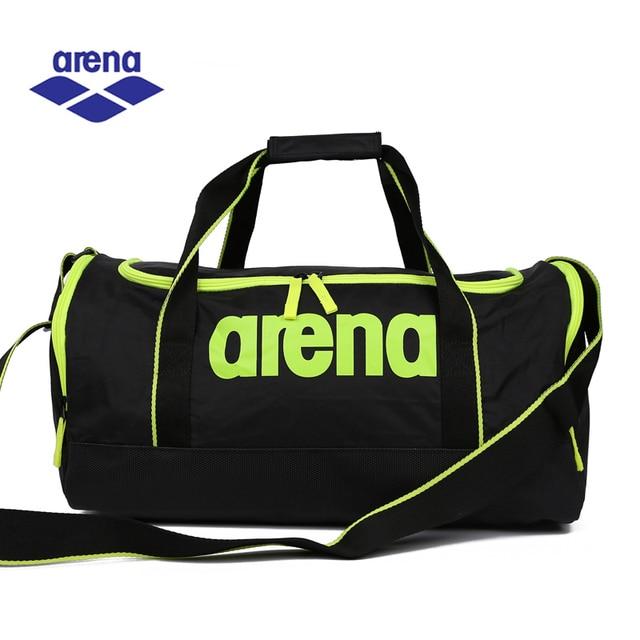 f18db2e50f83 Arena плавание Сумка сухой и влажной разделения спортивная сумка для  путешествий и для плавания Водонепроницаемый Swimmg