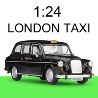1:24 diecast Car FX4 LONDON TAXI Cars 1:24 Alloy Car Metal Vehicle Collectible Models toys For Gift Collection