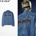 Fear Of God Denim Jackets Men Justin Bieber Purpose Tour Brand Male Jackets Men Oversized Streetwear Jean Coats 2016 SMC0493-5