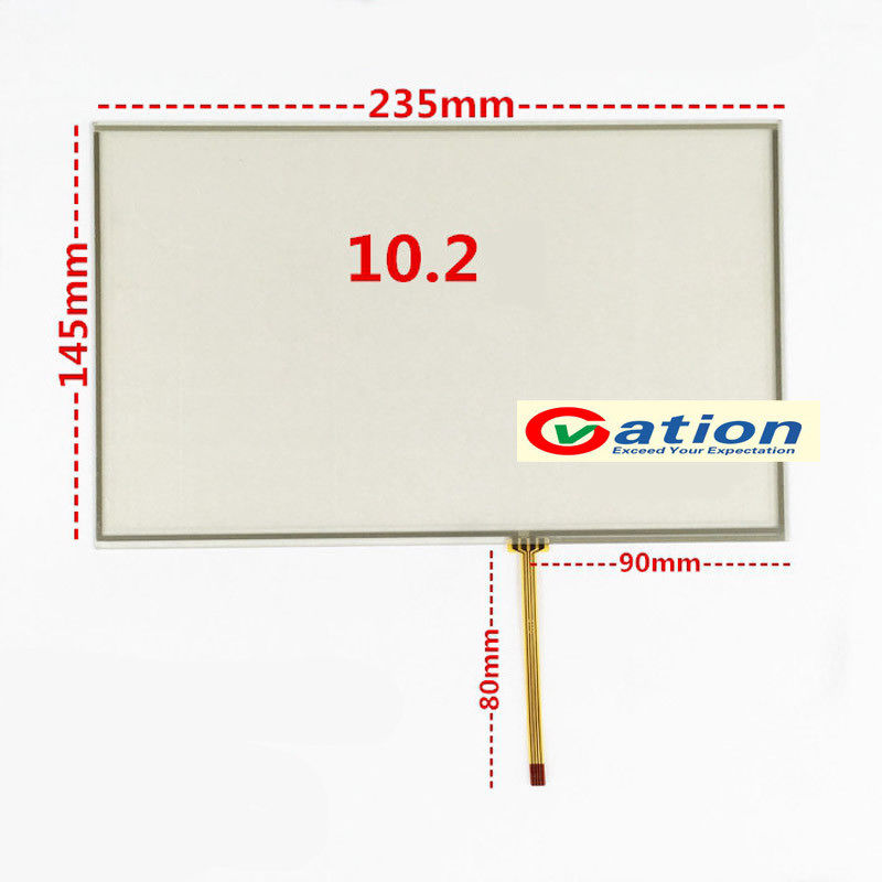 10.1 Inch 4 Wire Touch Screen Panel Glass for 10.1