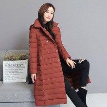 Winter Jacket Women Down Parkas Jackets Coat Plus Size Woman Down Cotton Jacket with Belt Fashion Parka Thick Coat Jacket Women стоимость