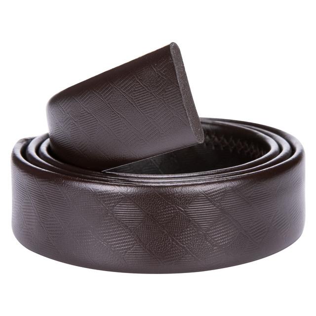 Mens Designer Formal Automatic Belt Buckle Belts for Men Fashion Brown Leather Belt Men High Quality Luxury Waist Leather Belts