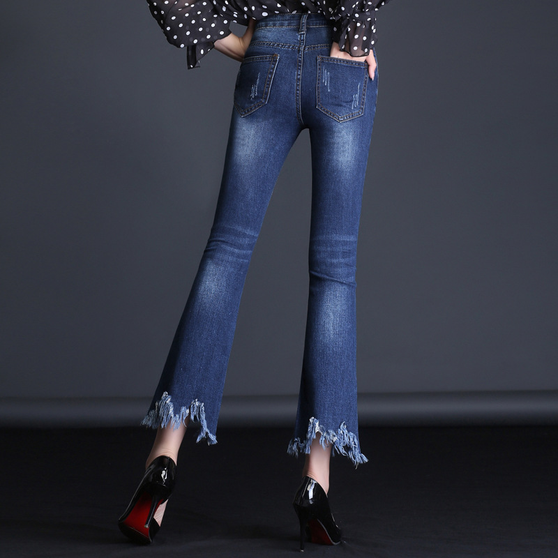 MUM Soft Tights Leggings woman jeans Denim Snowflake 2KH101 107 skinny jeans woman jean femme high