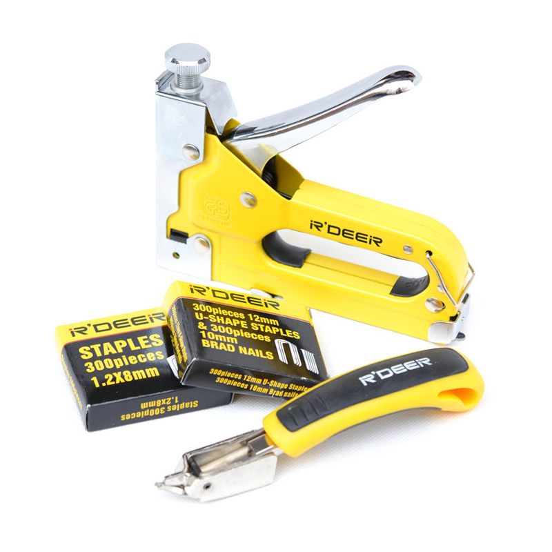 HR-709 Staple Gun Nail Stapler nail puller nail gun remover set