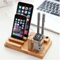 Envío libre 3 en 1 cargador de la tableta del teléfono móvil inteligente de carga horquilla del sostenedor del soporte para iphone para applewatch