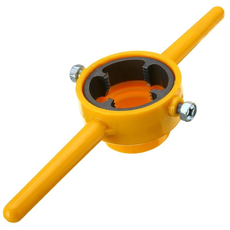 6 stücke NPT Sterben Set PVC Gewinde Maker Werkzeug Größen: 1/2
