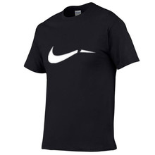 2019 summer new high quality mens t-shirt casual short-sleeved round neck 100% cotton men brand white black