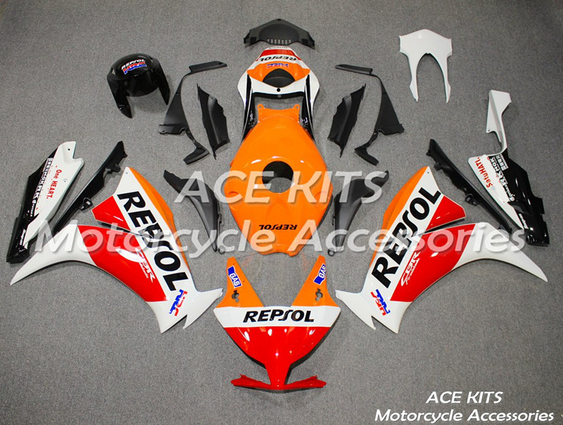 New ABS motorcycle Fairing For Honda CBR1000RR 2012 2013 2014 2015 2016  Injection Bodywor   Any color All have  ACE No.446New ABS motorcycle Fairing For Honda CBR1000RR 2012 2013 2014 2015 2016  Injection Bodywor   Any color All have  ACE No.446