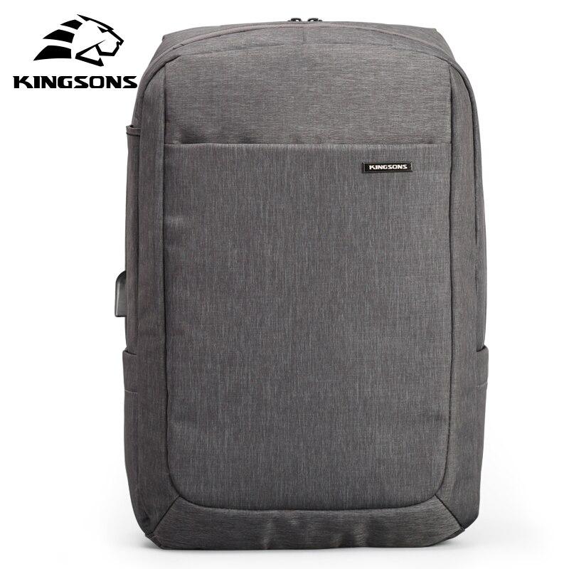 Kingsons 2019 Men Backpack Anti Theft Travel Men Shoulder Bag Waterproof Backpack Male Work Travel Mochila
