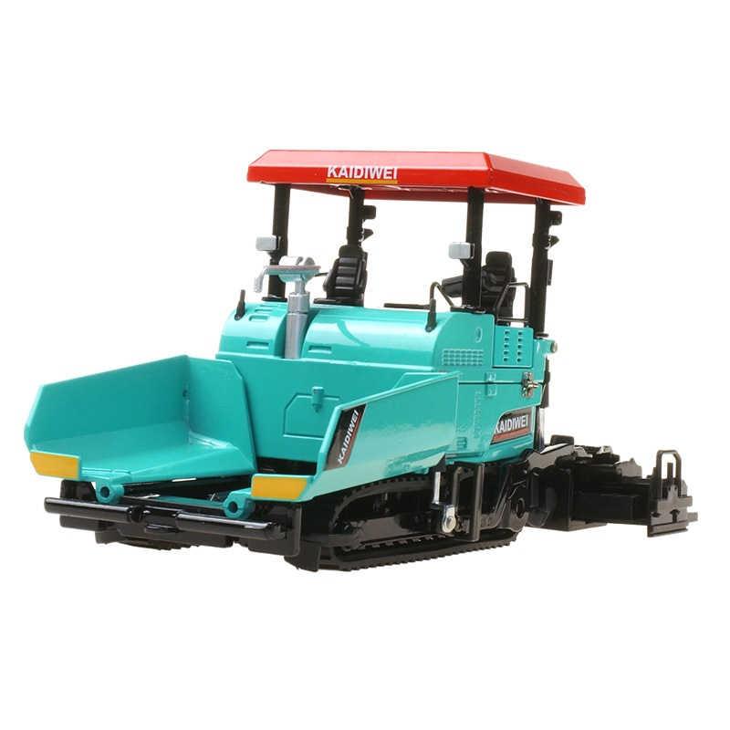 Máquina de pavimentación de Diecast de aleación pavimentación de asfalto camión de construcción de carreteras 1:40 ingeniería modelo de vehículo decoración chico