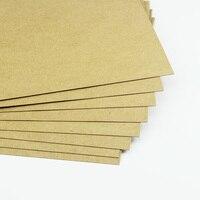 A4 250 300g Kraft Wood Pulp Kraft Paper 50sheets Bag