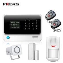 Fuers G90B gsm и Wi-Fi Home сигнализации Системы 2 г Беспроводной Охранной Сигнализации sms-оповещение аварийная система PIR Сенсор белый сирен