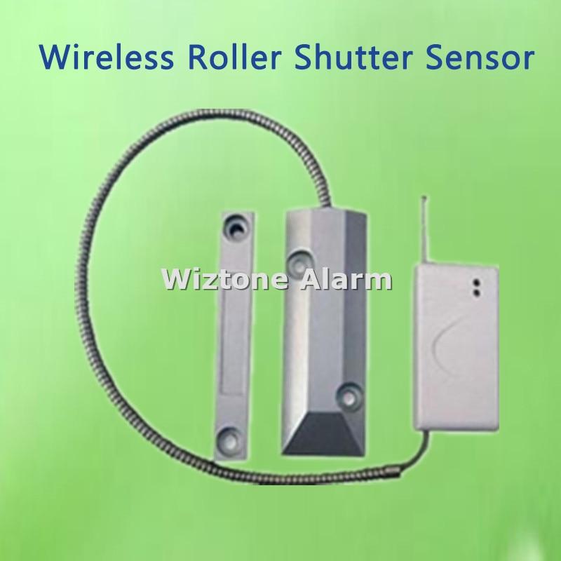 все цены на Wireless Roller Shutter Magnetic Contact Door Gap Sensor EV1527 433MHz for WIFI Alarm G90B, G90E, S2G, KR-8218G, G19, G18 Alarm онлайн