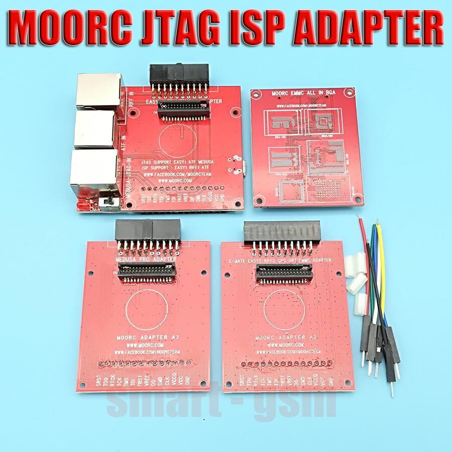 US $14 3  2018 Newest moorc update JTAG ISP Adapter ALL IN 1 For RIFF EASY  JTAG MEDUSA EMMC E MATE BOX ATF BOX FIFF BOX,-in Fiber Optic Equipments