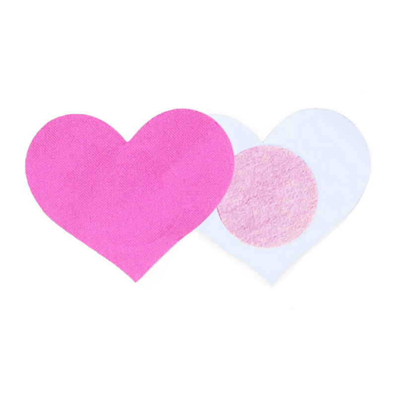 Women Heart Shape Nipple Cover Disposable Pasties Self Adhesive Nipple Covers Flirting Breast Stickers Fetish Boob Tape in intimates 39 accessories from Underwear amp Sleepwears