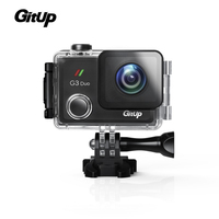 2017 в наличии gitup G3 Duo 12MP 2.0 Touch ЖК дисплей Экран 170 градусов HDMI Действие Спорт Камера гироскопа FPV системы /AV