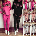Tracksuit For Women Autumn Women Suits Woman Sportsuits Cute Monkey Sweatpant Svitshot Woman Clothes