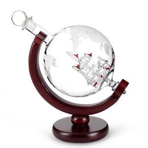 Image 2 - Carafe en verre avec carte rouge cristal, 800ML, carafe pour vin, pour Bar, carafe, bouteille deau de Champagne
