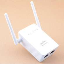Portable Size Wireless Router Super Fast 300Mbps Data Rate Dual Network Interface WiFi Repeater WIFI Router White(China (Mainland))