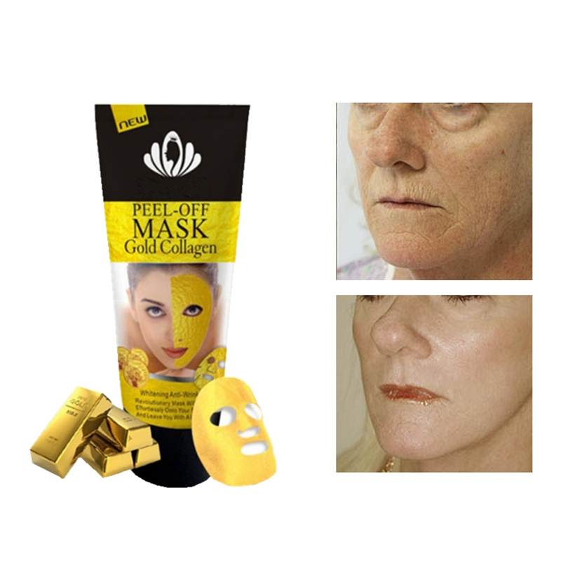 Face lift Mask Crystal Gold Facial Masks Moisturizing Cream whitening Anti-aging Hyaluronic acid Korean Cosmenics Essence