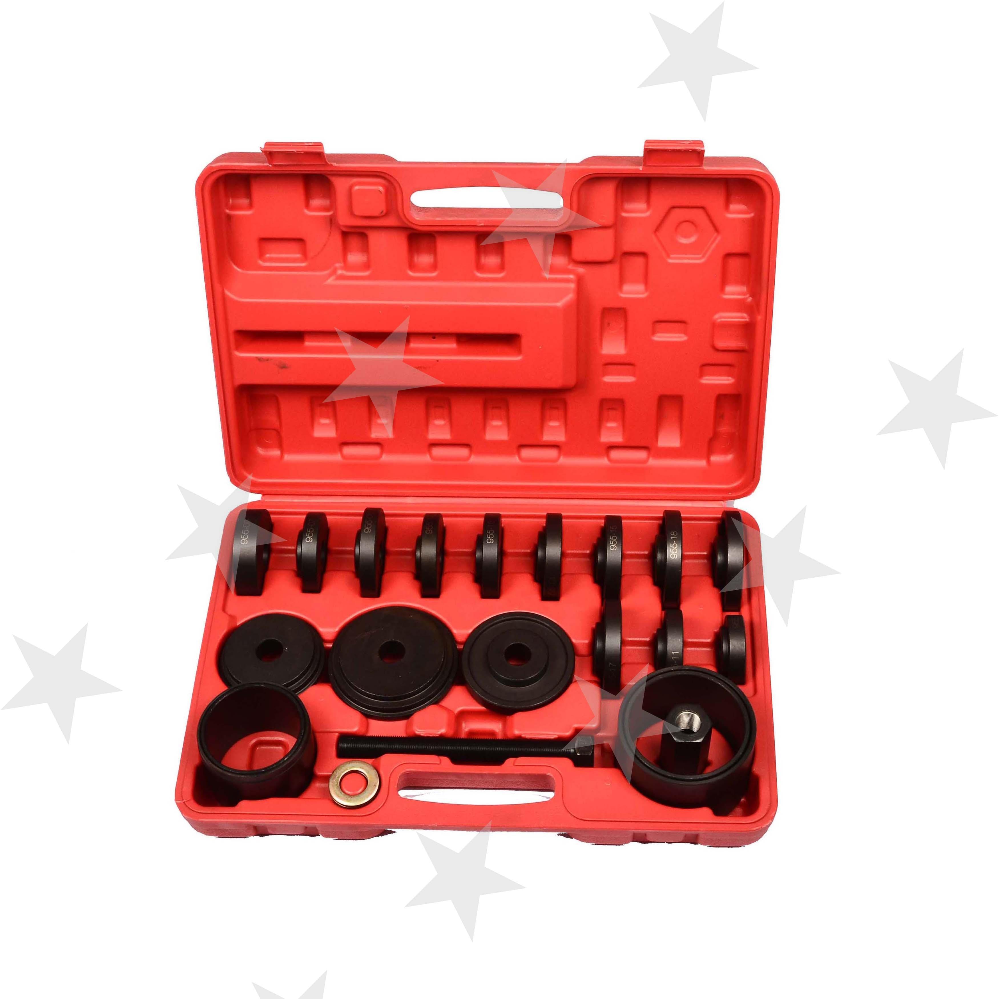 23 Pcs Fwd Vorne Stick Lager Drücken Kit Entfernung Adapter Puller Pulley Tool Kit