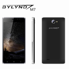 BYLYND M7 original smartphones 8.0MP China mobile phones cell Android 5.1 HD 1280*720 quad core 1G RAM 8G ROM unlock in stock