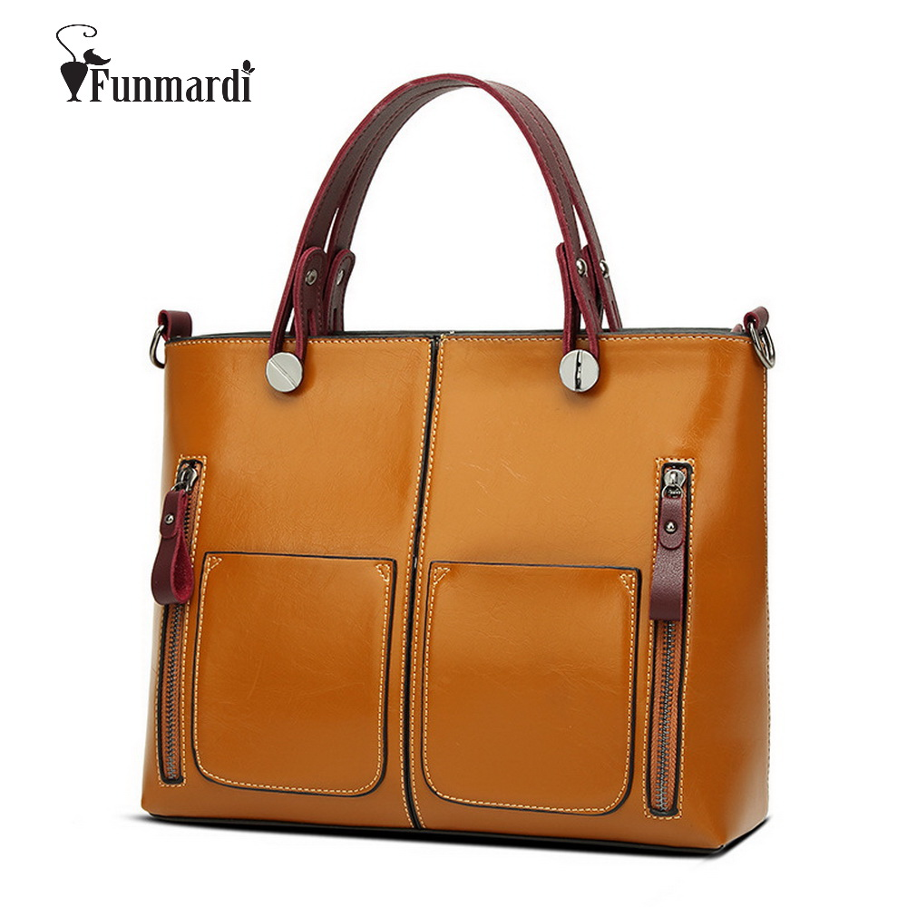 Hot sale vintage Waxy PU leather bags good quality women handbag brand fashion s