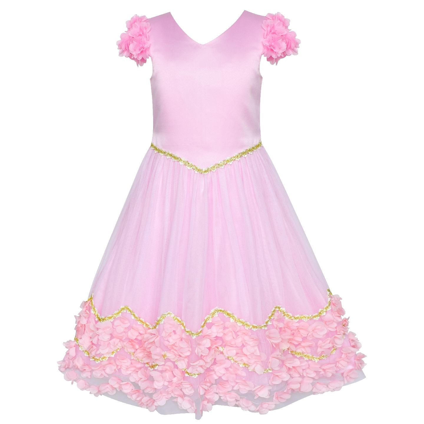 Flower Girl Dress Pink Floral Wedding Bridesmaid Party 2019 Summer Princess Dresses Kids Clothes Pageant Sundress VestidosFlower Girl Dress Pink Floral Wedding Bridesmaid Party 2019 Summer Princess Dresses Kids Clothes Pageant Sundress Vestidos